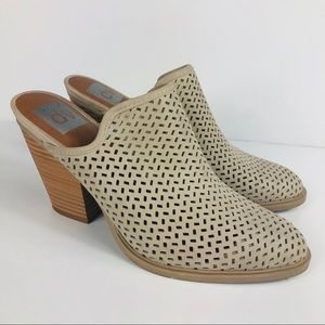 Dolce Vita Perforated Mules